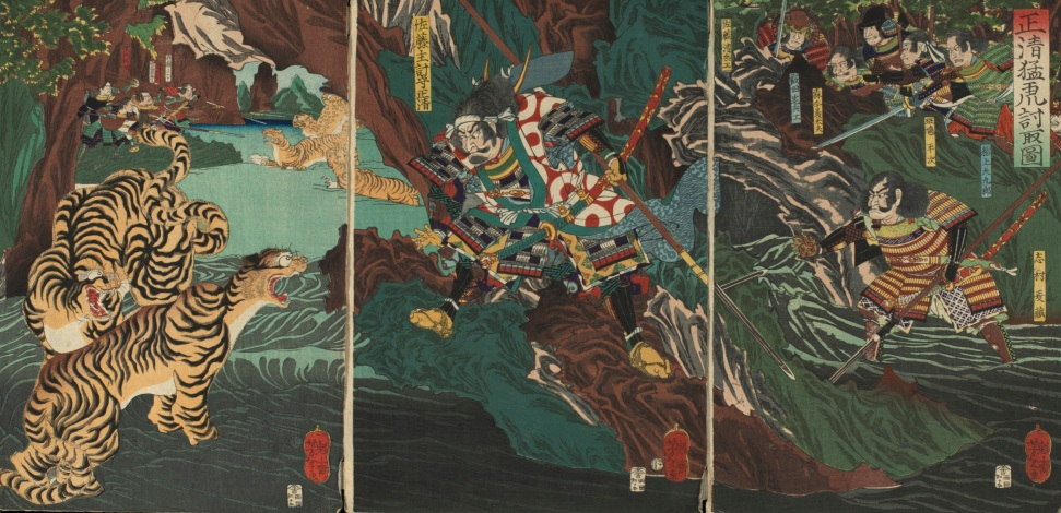 Kato Kiyomosa Tiger Hunting in Korea